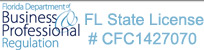 FL State License #CFC1427070